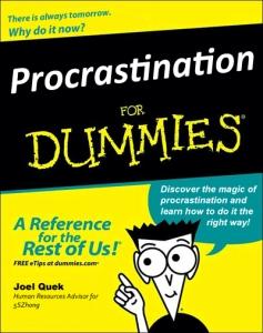 Procrastinatin
