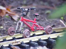 Training wheels for Tampa Choo-Choo
