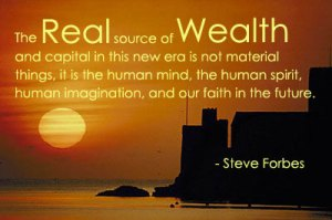real wealth is