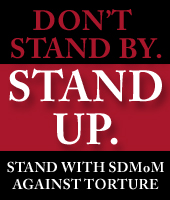 Stand up against torture